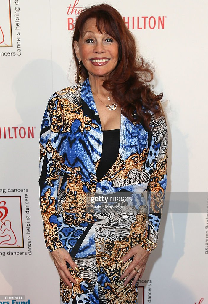 Actress BarBara Luna attends the Professional Dancers Society's Gypsy Awards Luncheon at The Beverly Hilton Hotel on March 24, 2013 in Beverly Hills, California.