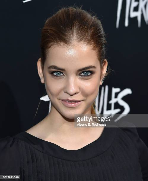 Actress Barbara Palvin arrives to the premiere of Paramount Pictures' 'Hercules' at the TCL Chinese Theatre on July 23 2014 in Hollywood California
