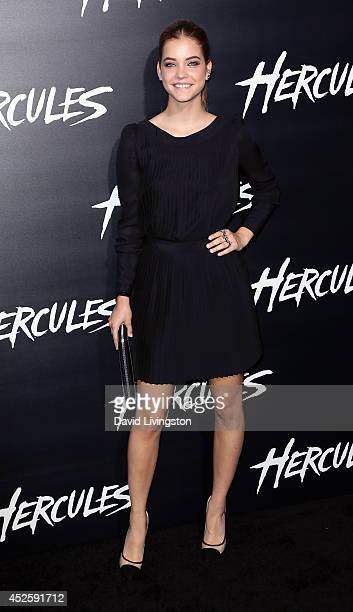 Actress Barbara Palvin attends the premiere of Paramount Pictures' 'Hercules' at the TCL Chinese Theatre on July 23 2014 in Hollywood California