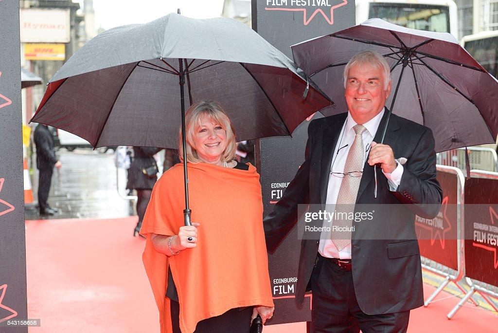 Actress Barbara Rafferty and husband Sean Scanlan attend the EIFF Closing Night Gala and World Premiere of 'Whisky Galore!' during the 70th Edinburgh International Film Festival at Festival Theatre on June 26, 2016 in Edinburgh, United Kingdom.