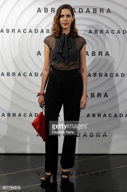 Actress Barbara SantaCruz attends the 'Abracadabra' premiere at Palacio de la Prensa cinema on July 24 2017 in Madrid Spain