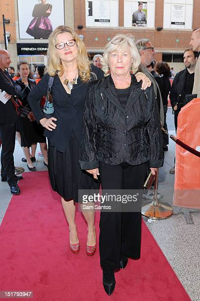 Actress Barbara Sukowa and director Margarethe von Trotta attend the 'Hannah Arendt' Premiere during the 2012 Toronto International Film Festival at...