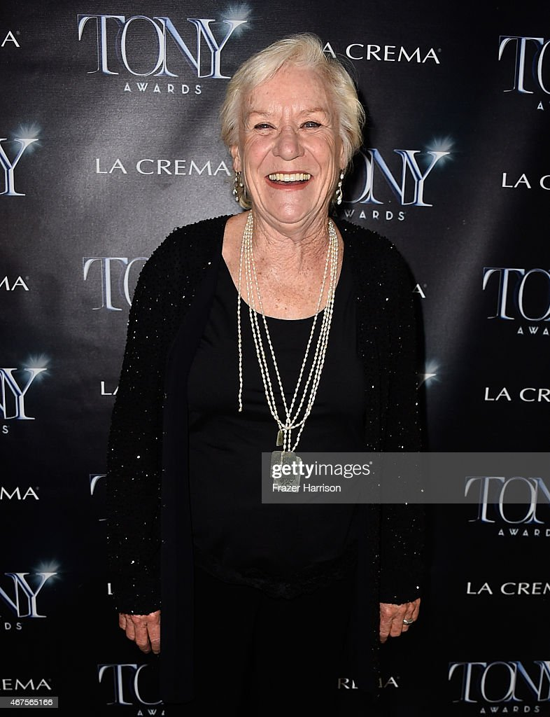 Actress Barbara Tarbuck attends The Tony Awards celebration of Broadway in Hollywood at Sunset Towers on March 25, 2015 in West Hollywood, California.