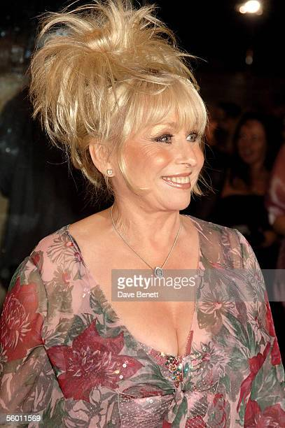 Actress Barbara Windsor arrives at the National Television Awards 2005 at the Royal Albert Hall on October 25 2005 in London England