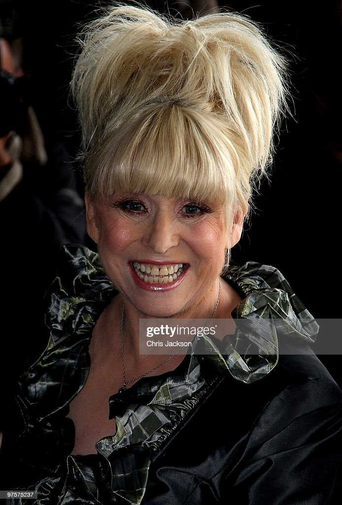 Actress <a gi-track='captionPersonalityLinkClicked' href=/galleries/search?phrase=Barbara+Windsor&family=editorial&specificpeople=210539 ng-click='$event.stopPropagation()'>Barbara Windsor</a> arrives at the TRIC Awards at Grosvenor House on March 9, 2010 in London, England.