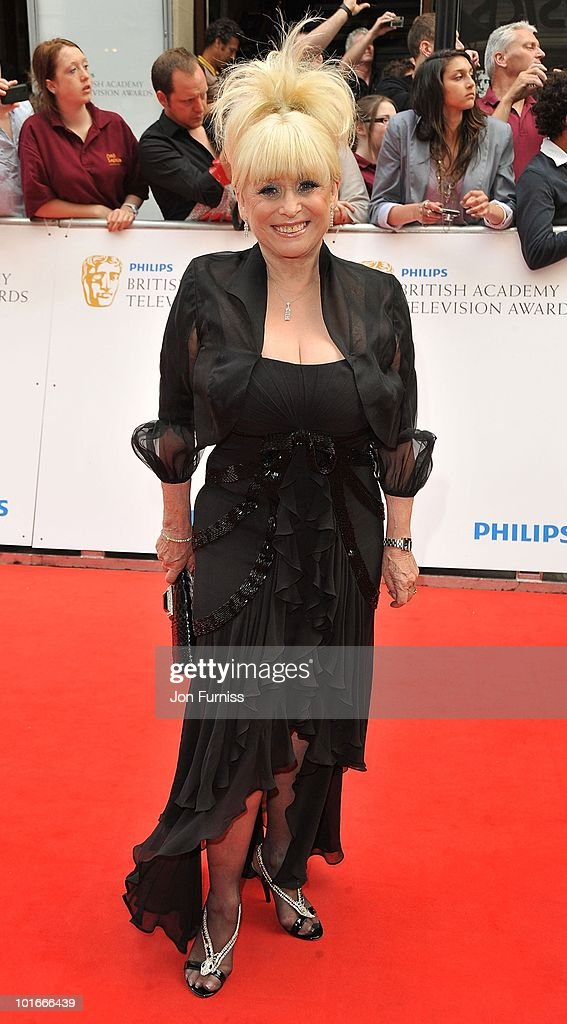 Actress <a gi-track='captionPersonalityLinkClicked' href=/galleries/search?phrase=Barbara+Windsor&family=editorial&specificpeople=210539 ng-click='$event.stopPropagation()'>Barbara Windsor</a> attends the Philips British Academy Television Awards (BAFTA) at London Palladium on June 6, 2010 in London, England.
