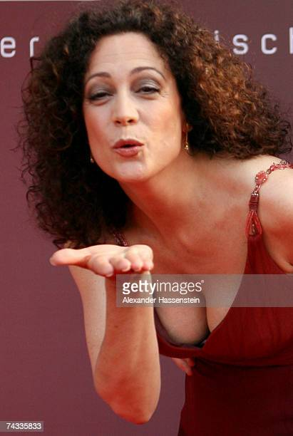 Actress Barbara Wussow attends the 'Blaue Panther' Bavarian Television Award 2007 Ceremony at the Prinzregenten Theater on May 25 2007 in Munich...