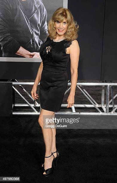 Actress Barbi Benton arrives at the premiere of Warner Bros Pictures' 'Creed' at Regency Village Theatre on November 19 2015 in Westwood California