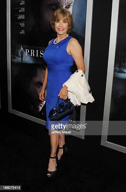 Actress Barbi Benton arrives at the 'Prisoners' Los Angeles Premiere at the Academy of Motion Picture Arts and Sciences on September 12 2013 in...