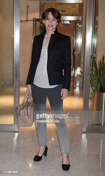 Actress Barbora Bobulova attends a screening of 'Mai Per Amore' at Camera dei Deputati on March 27 2012 in Rome Italy