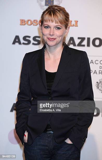 Actress Barbora Bobulova attends Gala Dinner In Favour Of Pietro Gamba Association at Officine Farneto on December 15 2009 in Rome Italy