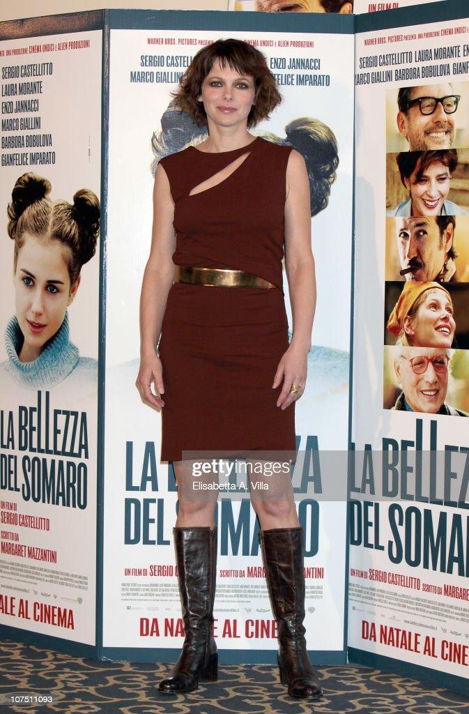 Actress Barbora Bobulova attends 'La Bellezza Del Somaro' photocall at the Bernini Bristol Hotel on December 10, 2010 in Rome, Italy.