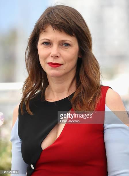 Actress Barbora Bobulova attends the 'Dopo La Guerra Apres La Guerre' photocall during the 70th annual Cannes Film Festival at Palais des Festivals...