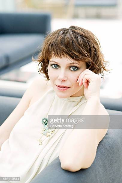 Actress Barbora Bobulova is photographed for Self Assignment on December 9 2010 in Rome Italy
