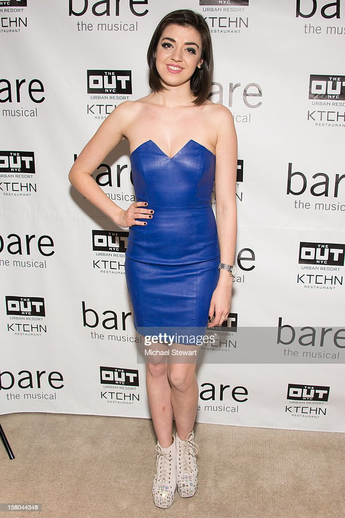 Actress Barrett Wilbert Weed attends 'BARE The Musical' Opening Night After Party at Out Hotel on December 9, 2012 in New York City.