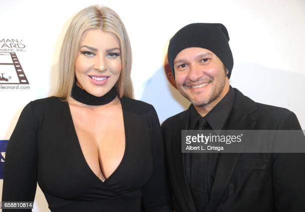 Actress Baylee Curran and artist/musician Neil D'Monte arrive for the 2017 Society Of Camera Operators Awards held at Loews Hollywood Hotel on...