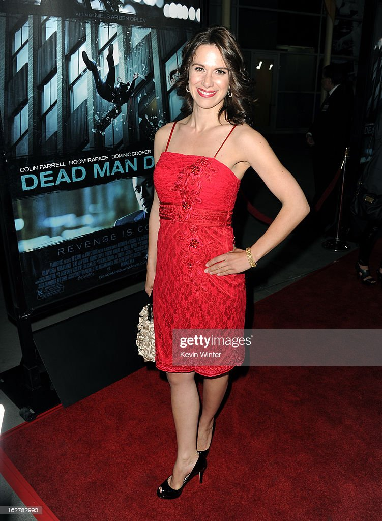 Actress Beata Dalton arrives to the premiere of FilmDistricts's 'Dead Man Down' at ArcLight Hollywood on February 26, 2013 in Hollywood, California.