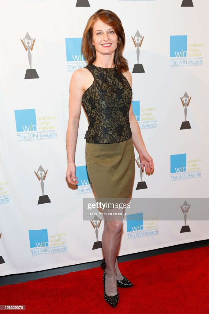Actress Beata Pozniak Daniel attends the 14th Annual Women's Image Network Awards at Paramount Theater on the Paramount Studios lot on December 12, 2012 in Hollywood, California.