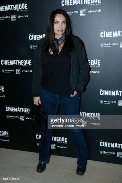 Actress Beatrice Dalle attends the 'Un beau soleil interieur' Paris Premiere at La Cinematheque on September 25 2017 in Paris France