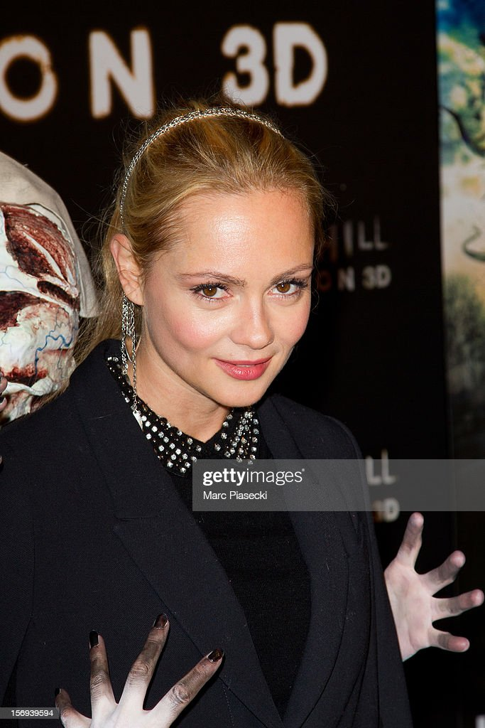 Actress Beatrice Rosen attends the Paris Premiere for the film 'Silent Hill Revelation 3D' at Gaumont Capucines on November 25, 2012 in Paris, France.
