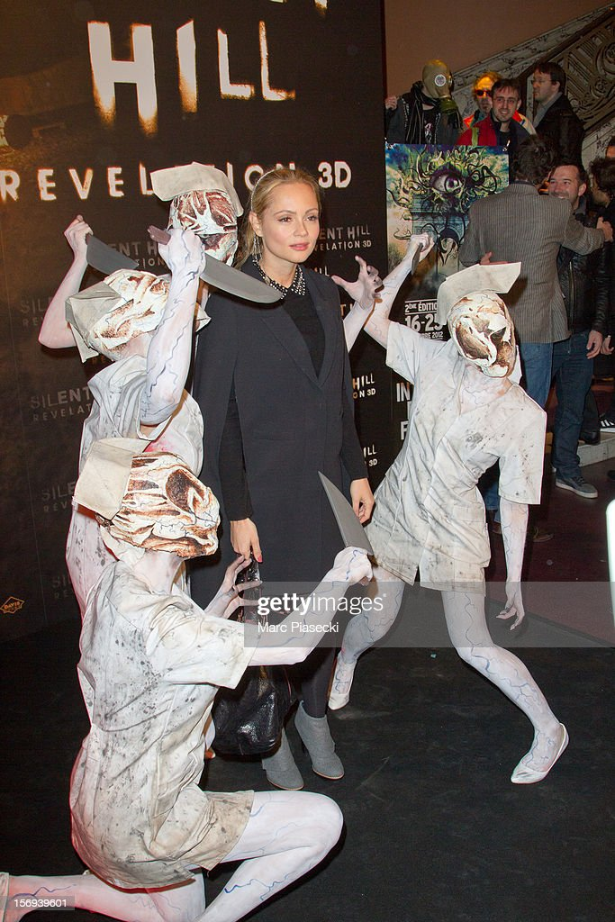 Actress <a gi-track='captionPersonalityLinkClicked' href=/galleries/search?phrase=Beatrice+Rosen&family=editorial&specificpeople=663790 ng-click='$event.stopPropagation()'>Beatrice Rosen</a> attends the Paris Premiere for the film 'Silent Hill Revelation 3D' at Gaumont Capucines on November 25, 2012 in Paris, France.