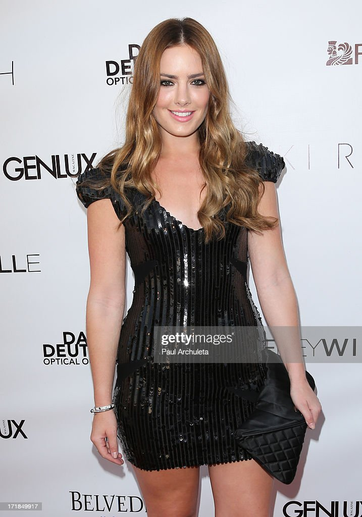 Actress Beau Dunn attends the Genlux Magazine summer issue release party at the Luxe Rodeo Drive Hotel on June 28, 2013 in Beverly Hills, California.