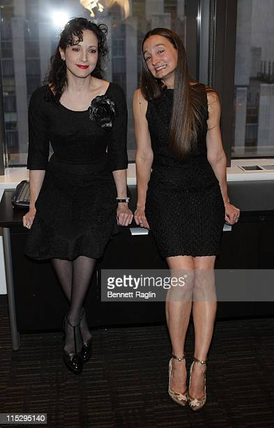 Actress Bebe Neuwirth and makeup artist Patricia Regan 2008 honoree attends the 8th annual New York Woman in Film Television Designing Hollywood at...
