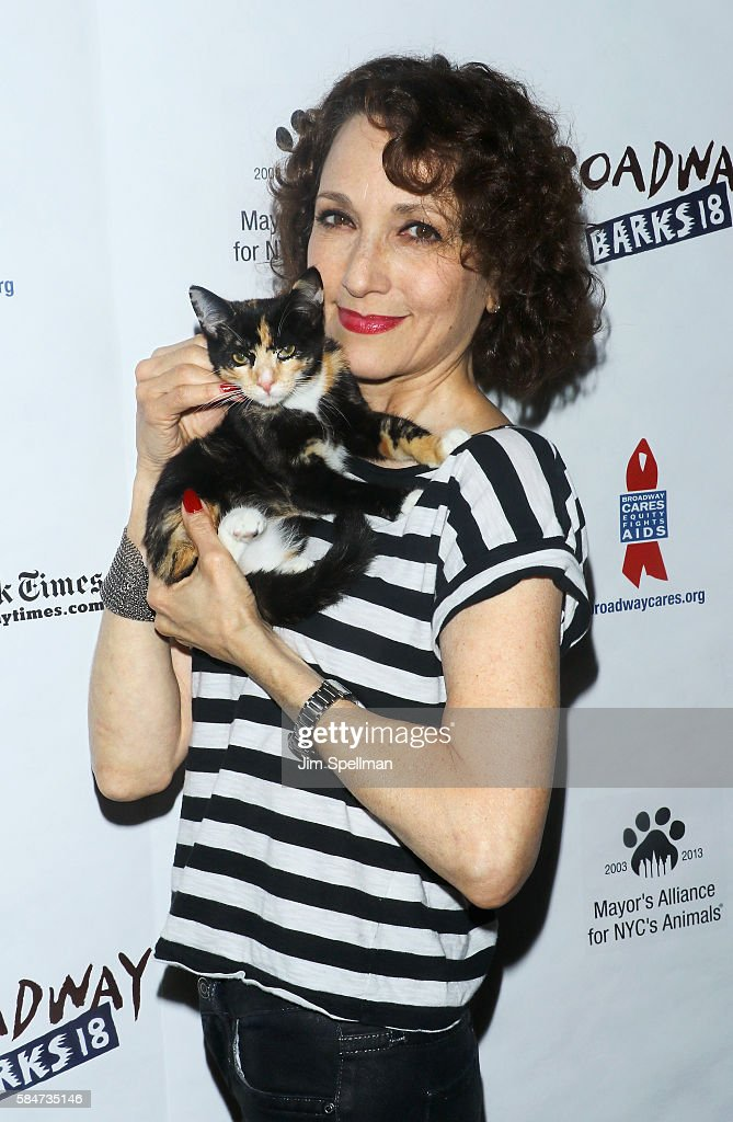 Actress Bebe Neuwirth attends the 18th Annual Broadway Barks! at Shubert Alley on July 30, 2016 in New York City.