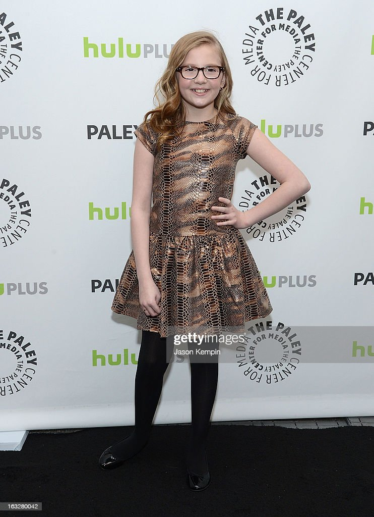 Actress Bebe Wood attends the Paley Center For Media's PaleyFest 2013 Honoring 'The New Normal' at Saban Theatre on March 6, 2013 in Beverly Hills, California.