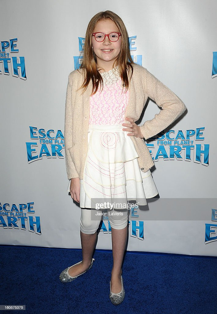Actress Bebe Wood attends the premiere of 'Escape From Planet Earth' at Mann Chinese 6 on February 2, 2013 in Los Angeles, California.