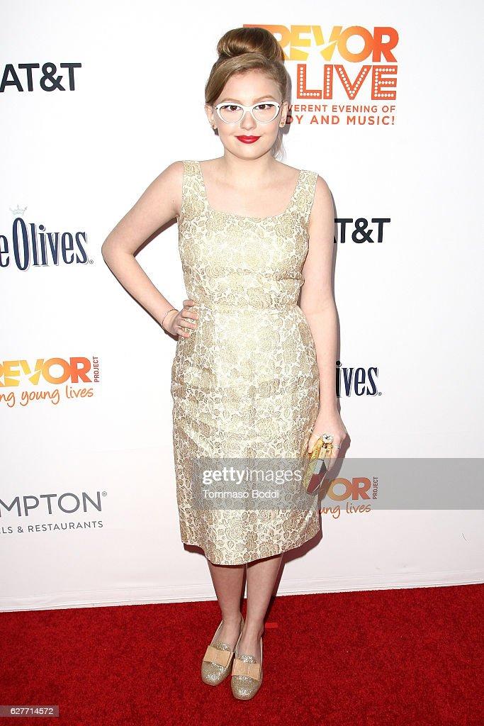 The Trevor Project's 2016 TrevorLIVE LA - Red Carpet