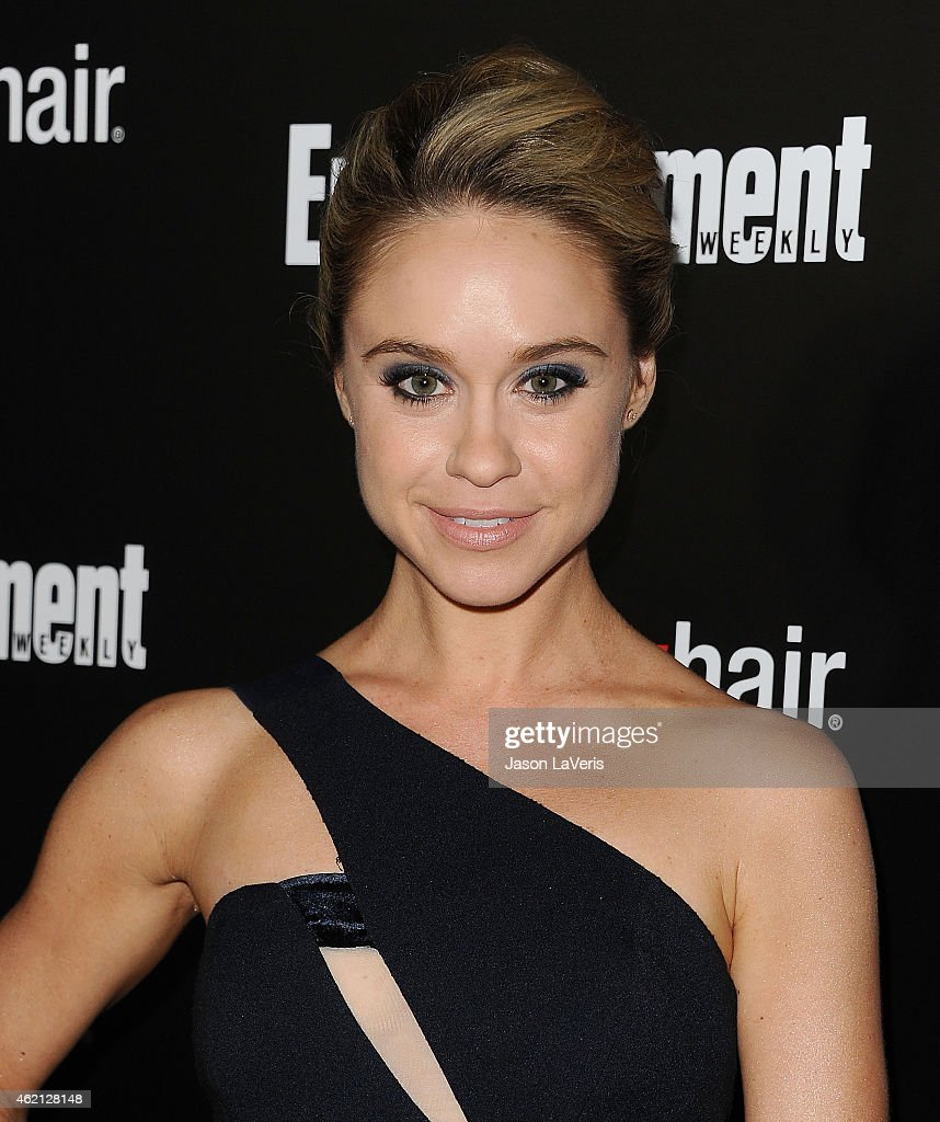 Actress Becca Tobin attends the Entertainment Weekly celebration honoring nominees for the Screen Actors Guild Awards at Chateau Marmont on January...