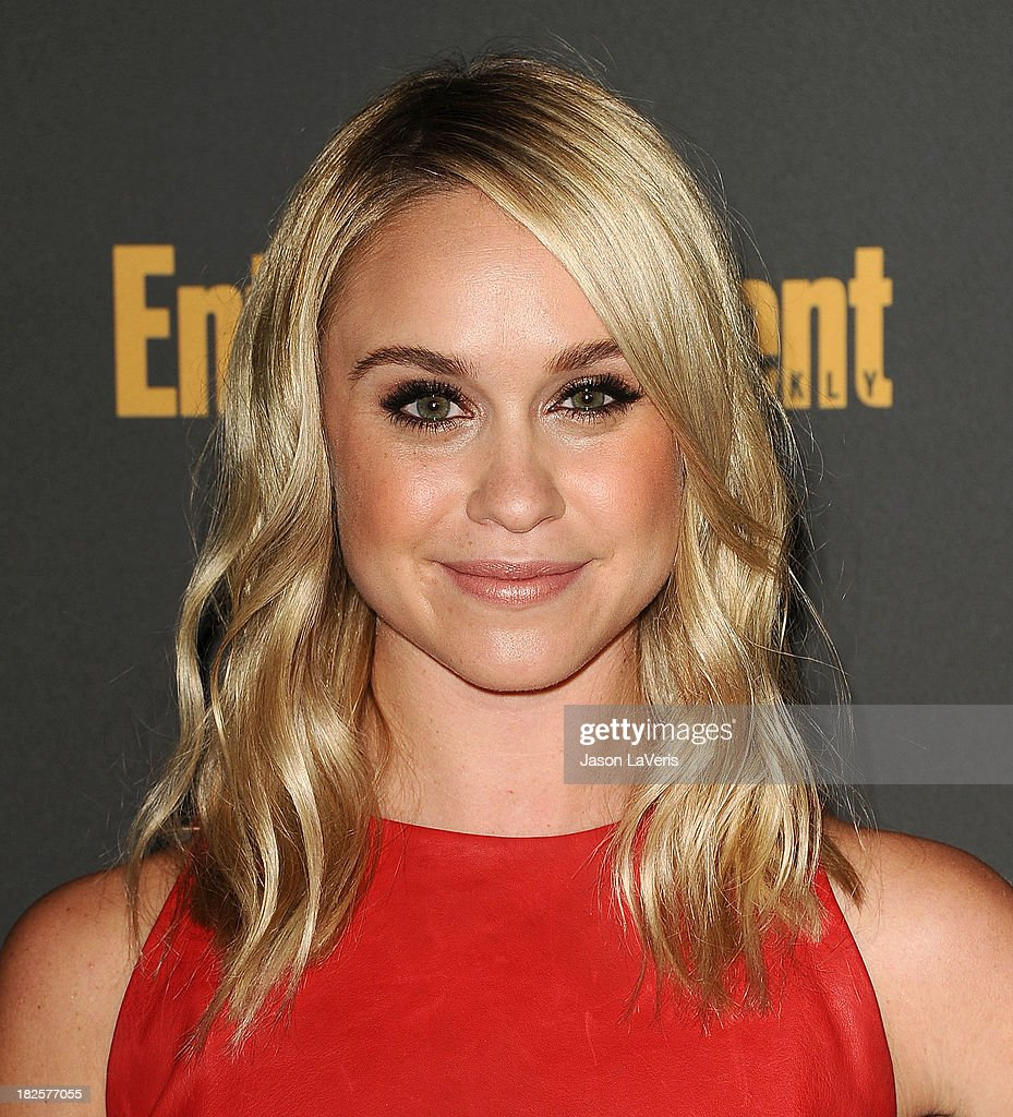Actress Becca Tobin attends the Entertainment Weekly pre-Emmy party at Fig & Olive Melrose Place on September 20, 2013 in West Hollywood, California.