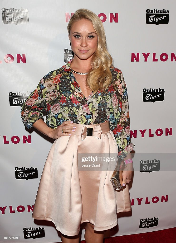 Actress Becca Tobin attends the NYLON Magazine Annual May Young Hollywood Issue Party at The Roosevelt Hotel on May 14, 2013 in Hollywood, California.