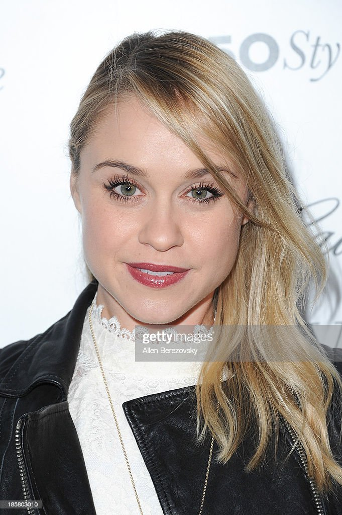 Actress Becca Tobin attends the Who What Wear and Cadillac's 50 Most Fashionable Women of 2013 event at The London Hotel on October 24, 2013 in West Hollywood, California.