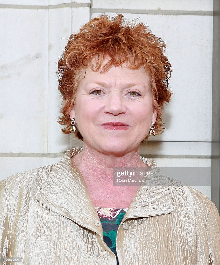 Actress Becky Ann Baker attends the 'The Assembled Parties' opening night at Samuel J. Friedman Theatre on April 17, 2013 in New York City.