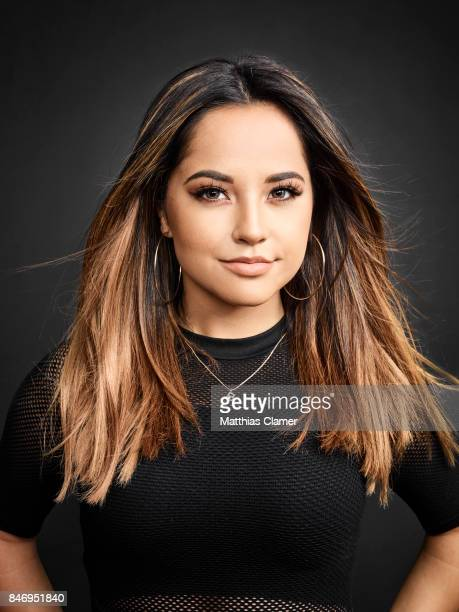 Actress Becky G from 'Power Rangers' is photographed for Entertainment Weekly Magazine on July 22 2016 at Comic Con in the Hard Rock Hotel in San...