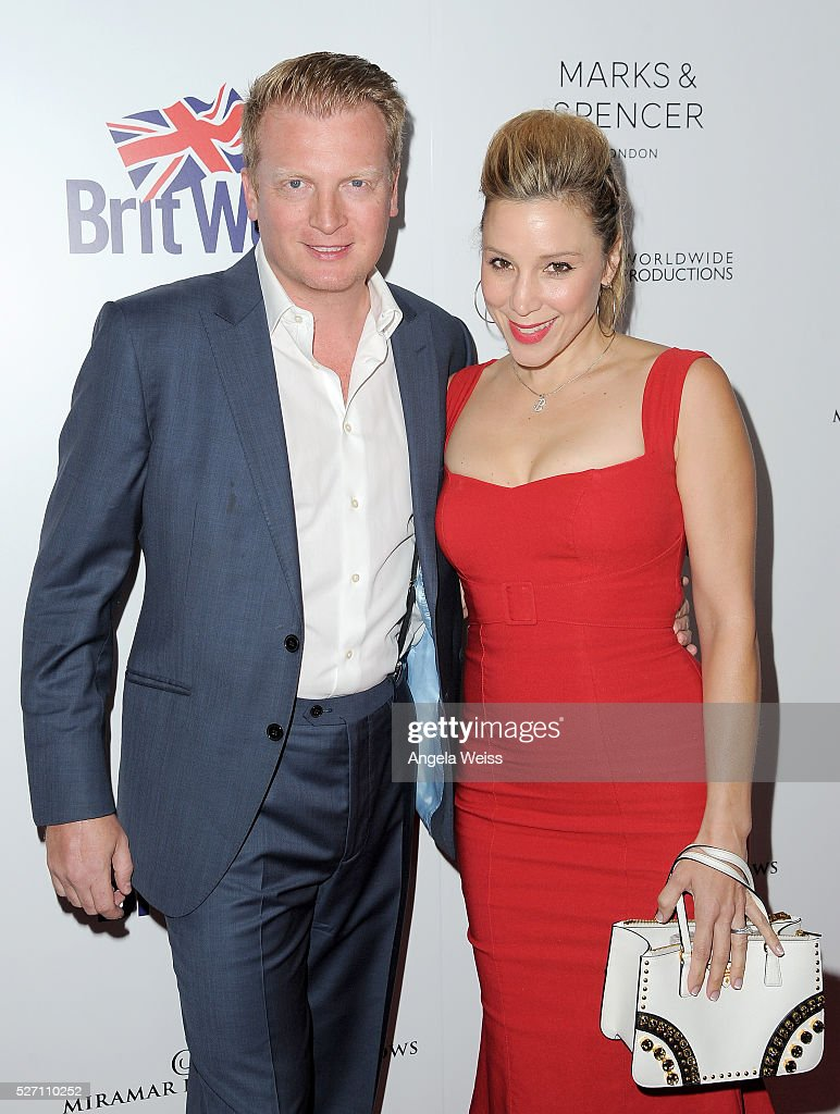 Actress Becky Lythgoe (R) and Producer Kris Lythgoe attend BritWeek's 10th Anniversary VIP Reception & Gala at Fairmont Hotel on May 1, 2016 in Los Angeles, California.
