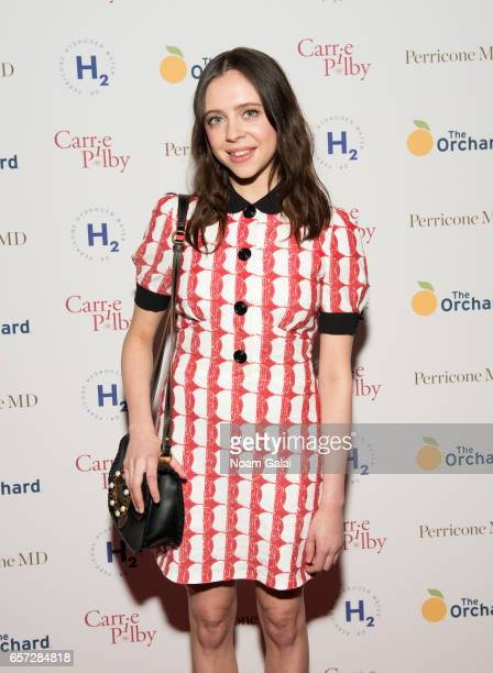 Actress Bel Powley attends the 'Carrie Pilby' New York screening at Landmark Sunshine Cinema on March 23 2017 in New York City