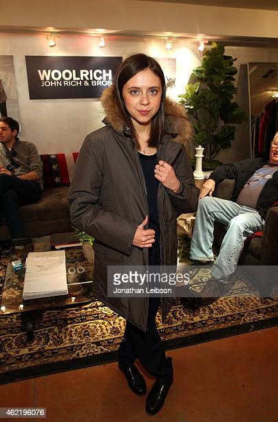 Actress Bel Powley attends The Variety Studio At Sundance Presented By Dockers on January 25 2015 in Park City Utah