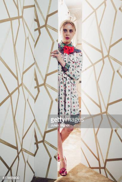 Actress Bel Powley is photographed for Grazia Magazine on May 12 2016 in Cannes France