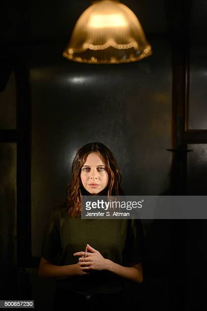 Actress Bel Powley is photographed for Los Angeles Times on November 14 2015 in New York City