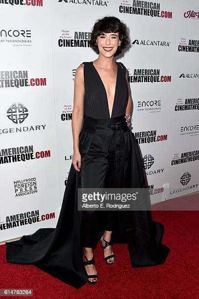 Actress Belen Cuesta attends the 30th Annual American Cinematheque Awards Gala at The Beverly Hilton Hotel on October 14 2016 in Beverly Hills...
