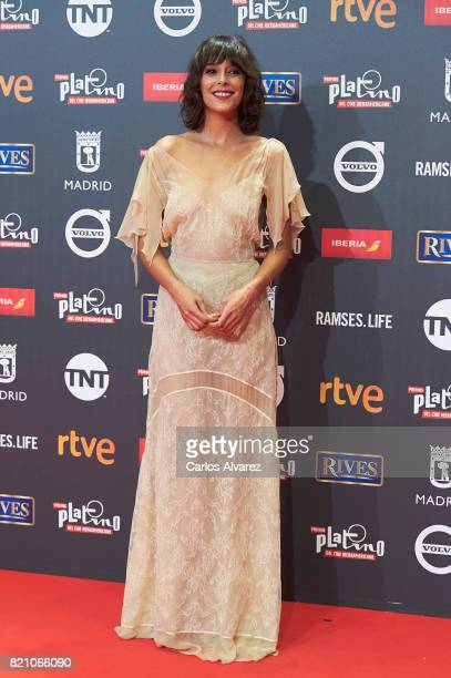 Actress Belen Cuesta attends the Platino Awards 2017 photocall at the La Caja Magica on July 22 2017 in Madrid Spain