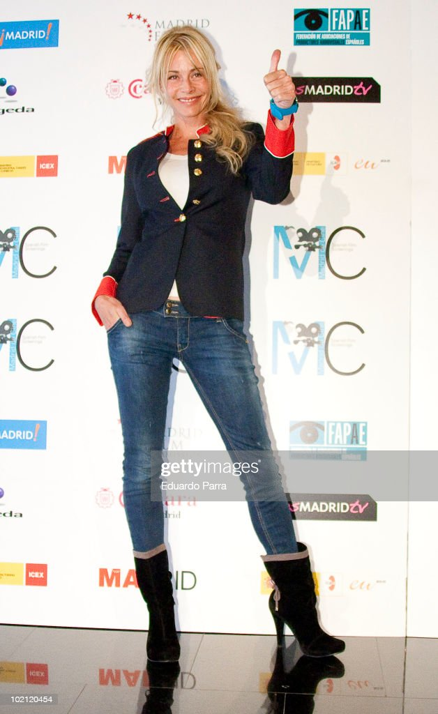 Actress Belen Rueda attends Spanish Film Screenings photocall at Academia del Cine on June 15, 2010 in Madrid, Spain.