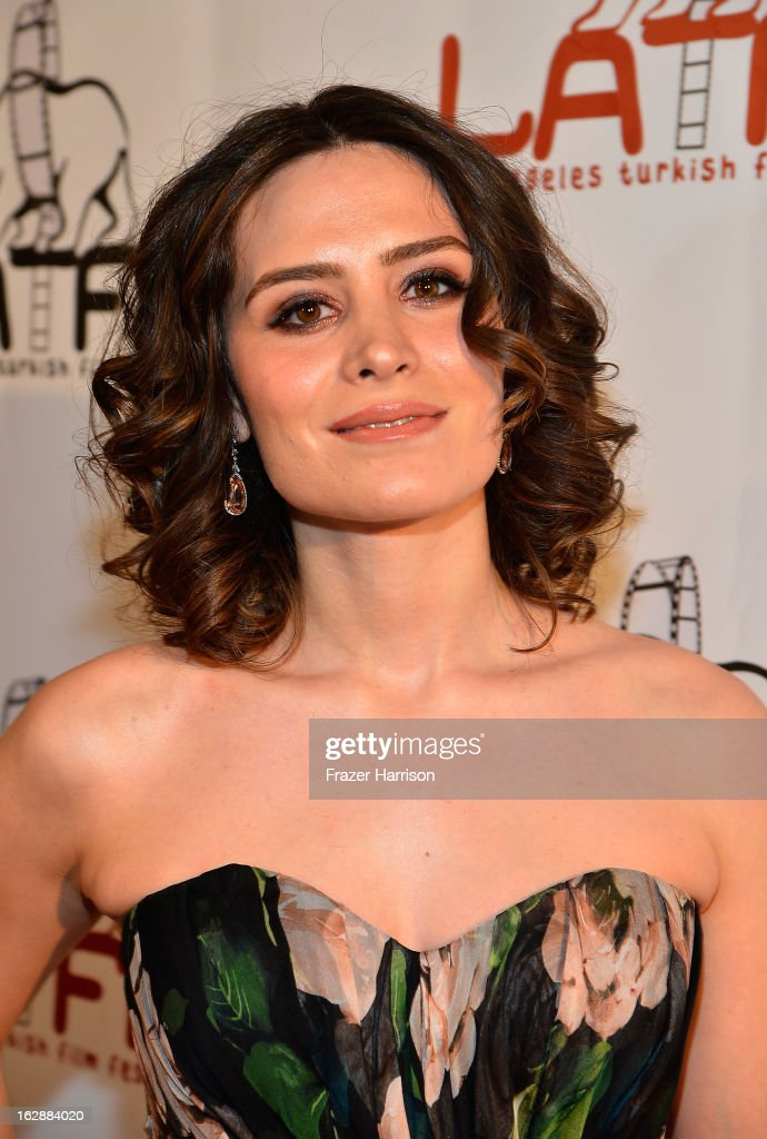 Actress Belçim Bilgin arrives at the 2013 Los Angeles Turkish Film Festival Opening Night Premiere Of 'The Butterfly's Dream'at the Egyptian Theatre on February 28, 2013 in Hollywood, California.