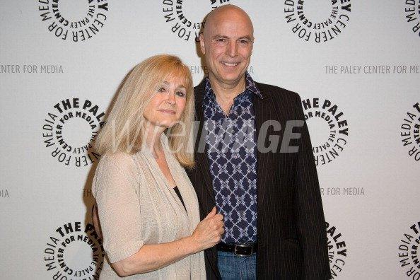 Actress Belinda Montgomery and husband...