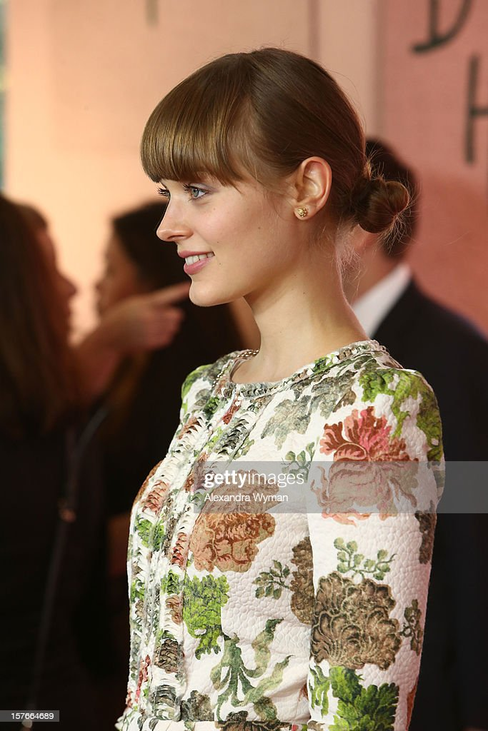Actress Bella Heathcote arrives at The Hollywood Reporter's 'Power 100: Women In Entertainment' Breakfast at the Beverly Hills Hotel on December 5, 2012 in Beverly Hills, California.