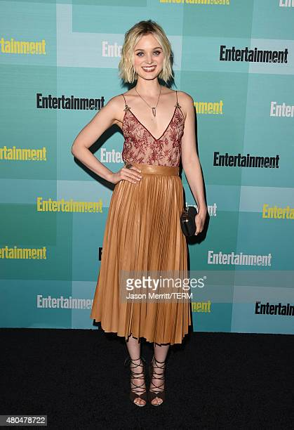 Actress Bella Heathcote attends Entertainment Weekly's ComicCon 2015 Party sponsored by HBO Honda Bud Light Lime and Bud Light Ritas at FLOAT at The...