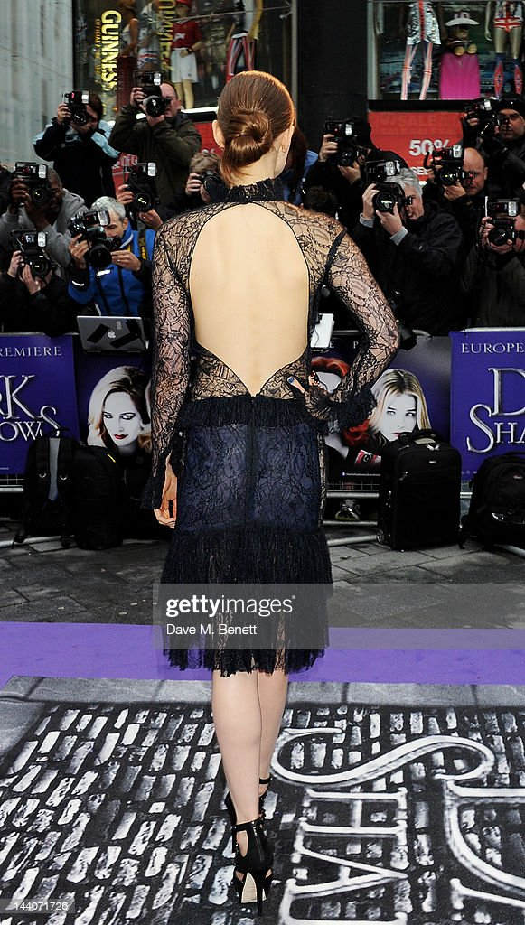 Actress Bella Heathcote attends the European Premiere of 'Dark Shadows' at Empire Leicester Square on May 9, 2012 in London, England.